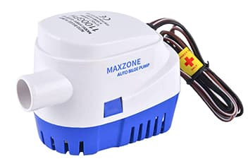 MAXZONE Automatic Submersible Boat Bilge Water Pump